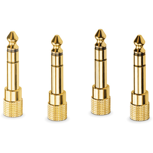 """Rode HJA-4 3.5mm TRS to 1/4"""" Headphone Adapters (4-Pack)"""