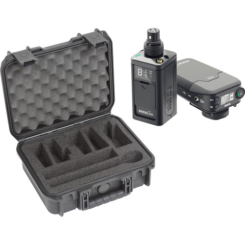 Rode RODELink Newsshooter Kit Digital Camera-Mount Wireless Plug-On Microphone System with Case and No Mic Kit (2.4 GHz)