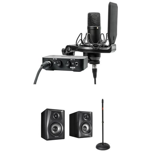 Rode NT1 Complete Studio Kit with Powered Studio Monitors