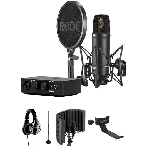 Rode NT1 Complete Studio Kit with Reflection Filter and Headphones