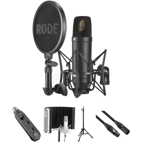 Rode NT1 Microphone with Vocal Recording Setup Kit