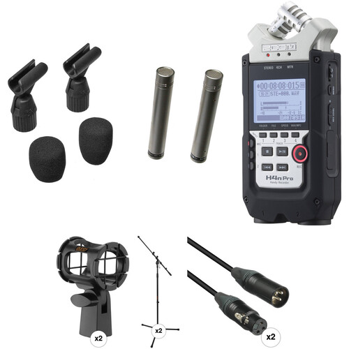 Rode NT5 Cardioid Condenser Mic (Matched Pair) & Recorder Package for Ambient Sound Kit