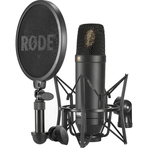 "Rode NT-1 KIT 1"" Cardioid Condenser Microphone with SMR Shockmount"