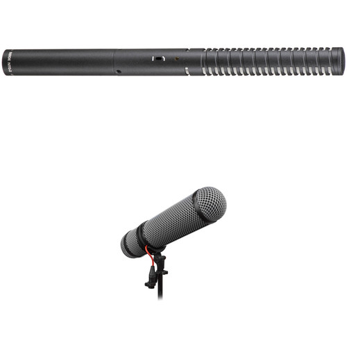 Rode NTG2 Shotgun Microphone and Rycote Super-Blimp Windshield Kit