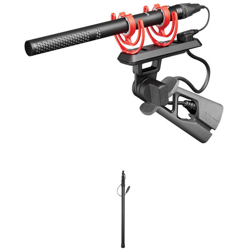 Rode NTG5 Shotgun Microphone Kit with Boompole