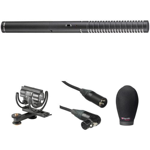 Rode NTG2 Shotgun Mic with Hot Shoe Adapter & Rycote Super-Softie Wind Shield Kit