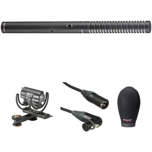 Rode NTG2 Shotgun Microphone Kit with Shoe Shockmount, Windshield, and XLR Cable