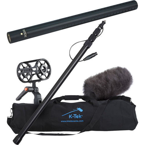 Rode NTG3 Precision Shotgun Microphone with K-Tek Accessory Kit