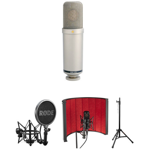 Rode NTK Valve Microphone Voiceover and Sound Isolation Filter Kit