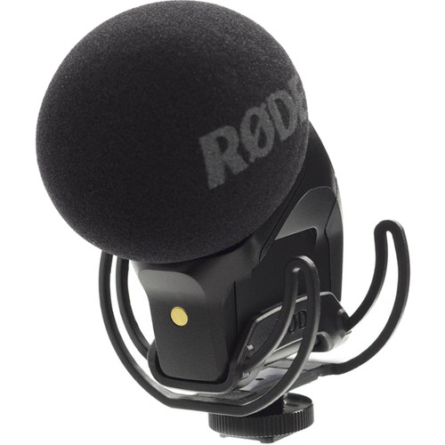 Rode Stereo VideoMic Pro Rycote with Deadkitten Fur Windshield Kit