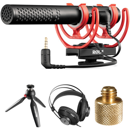 Rode VideoMic NTG Shotgun Microphone Podcaster Kit
