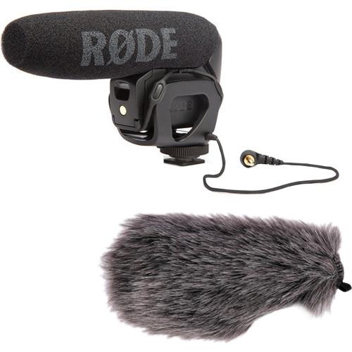 Rode VideoMic Pro Shotgun Microphone and Windbuster Kit