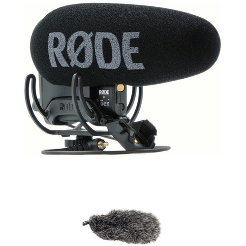 Rode VideoMic Pro+ Camera-Mount Shotgun Microphone Kit with DeadCat VMPR+ Windshield