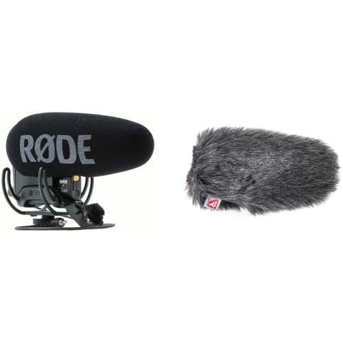 Rode VideoMic Pro+ Camera-Mount Shotgun Microphone Kit with Rycote Windshield