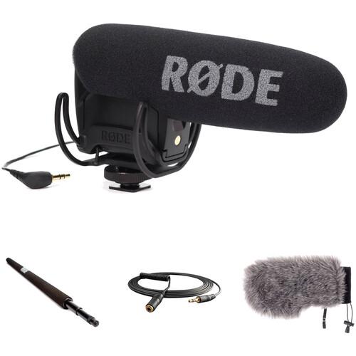 Rode VideoMic Pro On-Camera Shotgun Mic and Accessories Kit