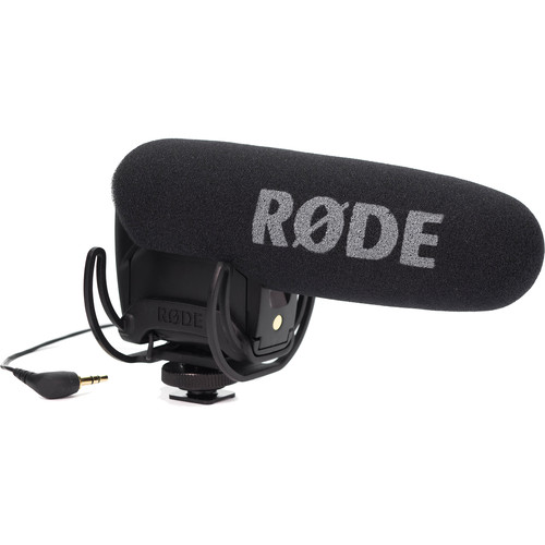 Rode VideoMic Pro with Rycote Lyre Shockmount and Dual Shoe Bracket Kit