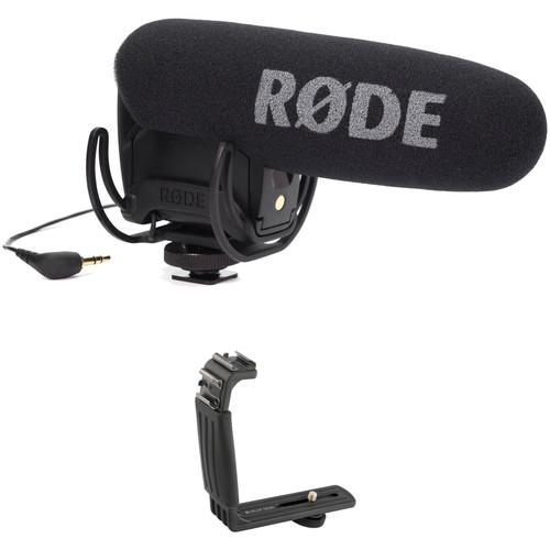 Rode VideoMic Pro Camera-Mount Shotgun Microphone Kit with Dual-Shoe Bracket