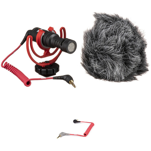Rode VideoMicro Compact On-Camera Microphone and Cable Kit