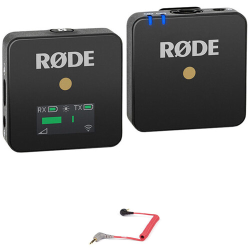 Rode Wireless GO Compact Wireless System Kit for Use with Mobile Devices