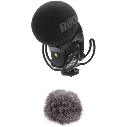Rode XY Stereo Condenser VideoMic Pro Rycote and Windbuster Kit