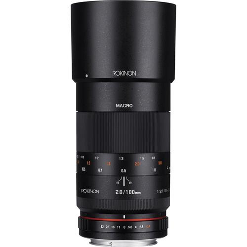 Rokinon 100mm f/2.8 Macro Lens for Canon EF
