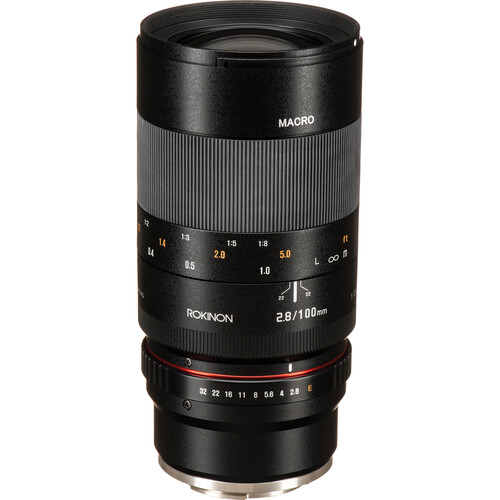 Rokinon 100mm f/2.8 Macro Lens for Sony E