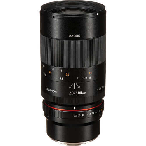 Rokinon 100mm f/2.8 Macro Lens for Fujifilm X