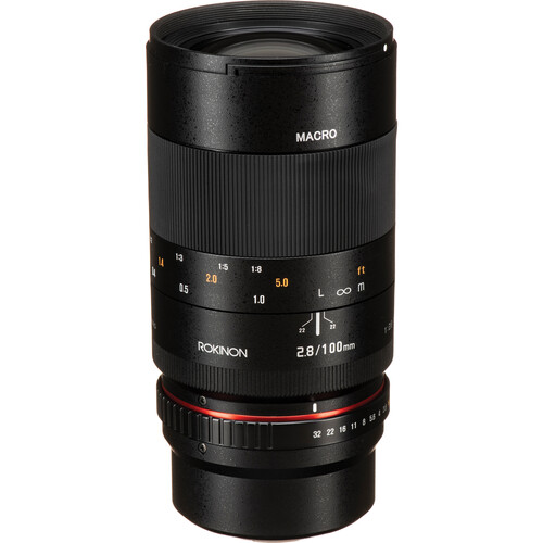Rokinon 100mm f/2.8 Macro Lens for Micro Four Thirds