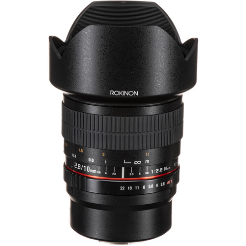 Rokinon 10mm f/2.8 ED AS NCS CS Lens for Micro Four Thirds Mount