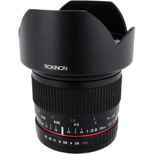 Rokinon 10mm f/2.8 ED AS NCS CS Lens for Samsung NX Mount