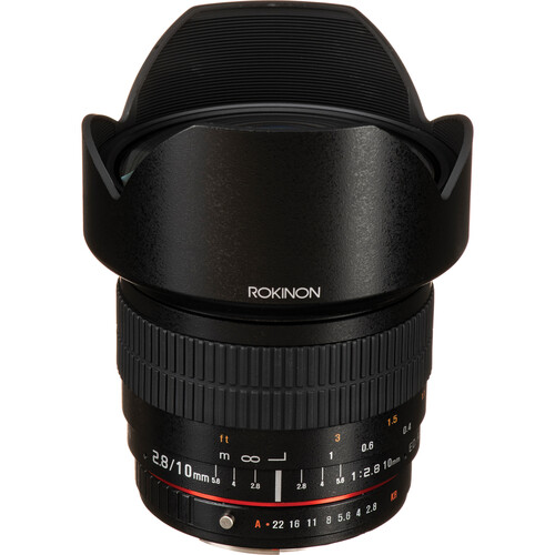 Rokinon 10mm f/2.8 ED AS NCS CS Lens for Pentax K Mount