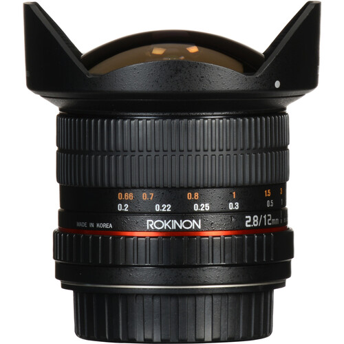 Rokinon 12mm f/2.8 ED AS IF NCS UMC Fisheye Lens for Canon EF Mount