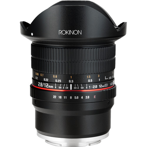 Rokinon 12mm f/2.8 ED AS IF NCS UMC Fisheye Lens for Sony E Mount