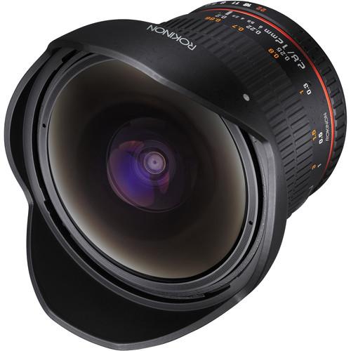 Rokinon 12mm f/2.8 ED AS IF NCS UMC Fisheye Lens for Sony A Mount