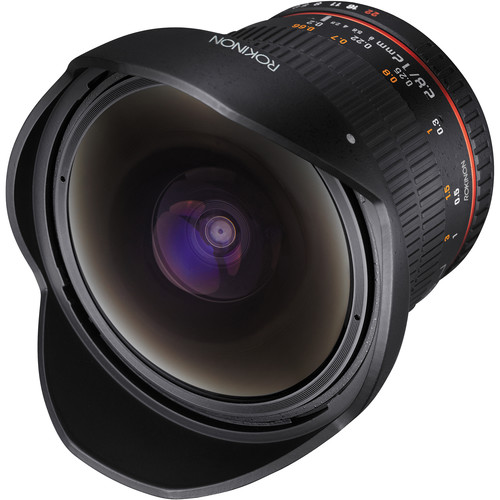 Rokinon 12mm f/2.8 ED AS IF NCS UMC Fisheye Lens for Sony A Mount