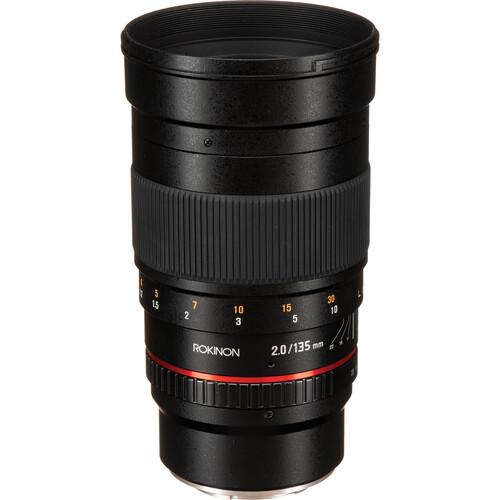Rokinon 135mm f/2.0 ED UMC Lens for Fujifilm X Mount