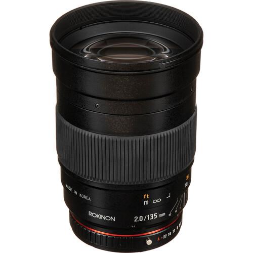 Rokinon 135mm f/2.0 ED UMC Lens (Pentax K)