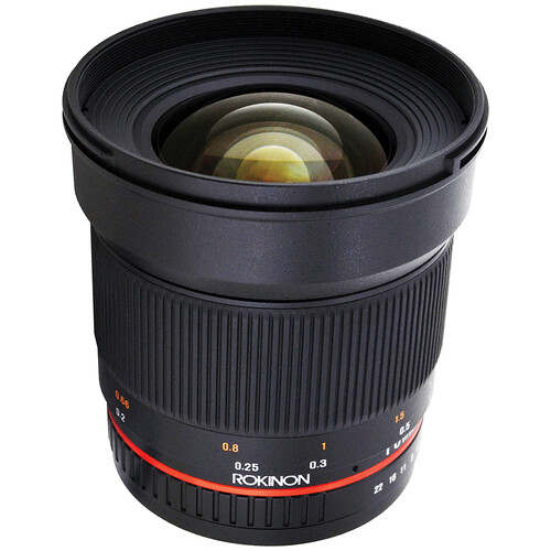 Rokinon 16mm f/2.0 ED AS UMC CS Lens for Fujifilm X Mount