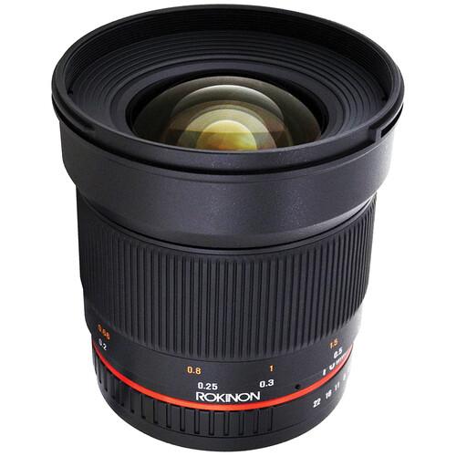 Rokinon 16mm f/2.0 ED AS UMC CS Lens for Samsung NX Mount