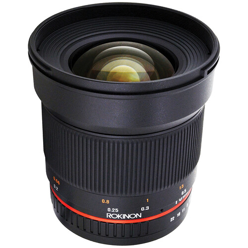Rokinon 16mm f/2.0 ED AS UMC CS Lens for Samsung NX Mount