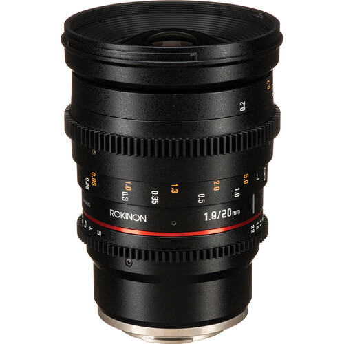 Rokinon 20, 35, 50, 85mm Cine DS Lens Bundle (Sony E-Mount)