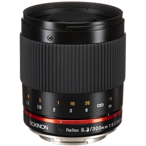 Rokinon Reflex 300mm f/6.3 ED UMC CS Lens for Sony E Mount (Black)