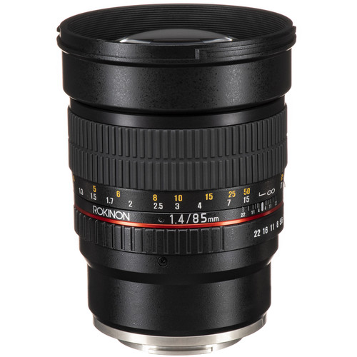 Rokinon 85mm f/1.4 AS IF UMC Lens for Sony E Mount