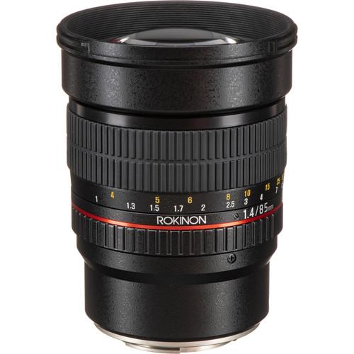 Rokinon 85mm f/1.4 AS IF UMC Lens for Fujifilm X Mount