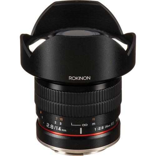 Rokinon 14mm F2.8 IF ED Super Wide Angle Lens