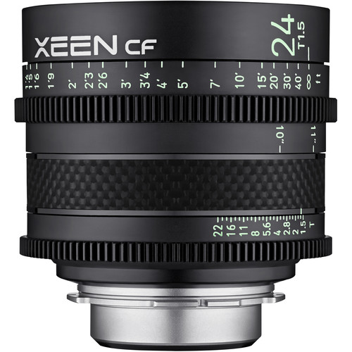 Rokinon XEEN CF 24mm T1.5 Pro Cine Lens (PL Mount)