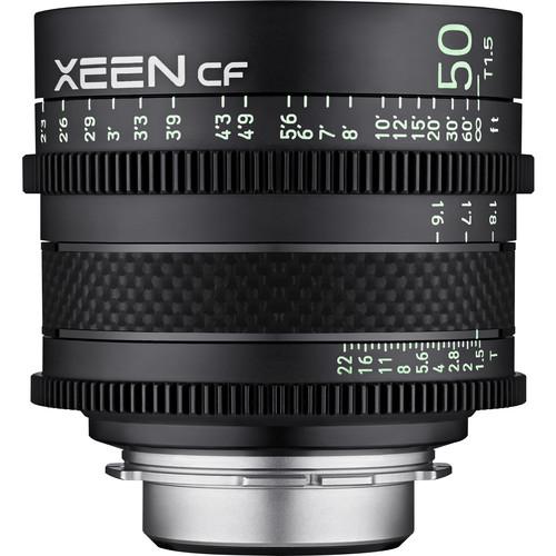 Rokinon XEEN CF 50mm T1.5 Pro Cine Lens (PL Mount)