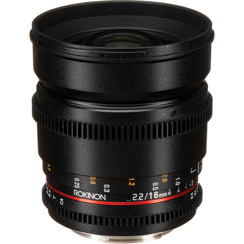 Rokinon Cine DS 5 Lens Kit with Canon EF Mount