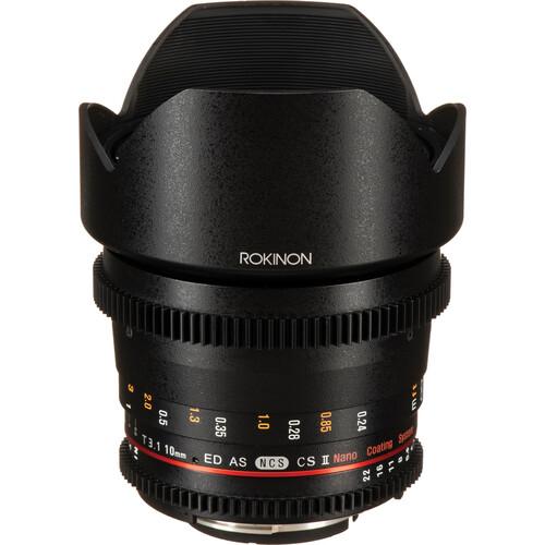 Rokinon Cine DS Wide-Angle Lens Kit for APS-C (Nikon F)
