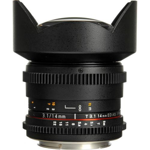 Rokinon Cinema 5D Canon Prime Lenses Starter Kit